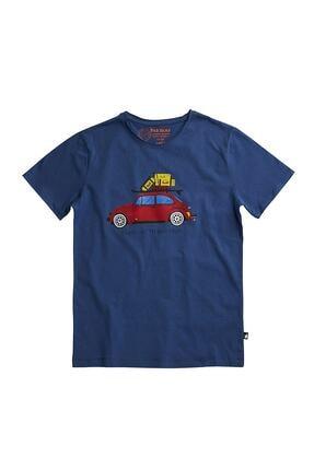 Bad Bear Erkek Mavi Kısa Kollu Tişört