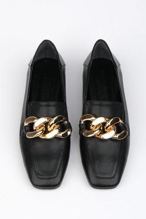 Marjin Modena Kadın Günlük Loafer Ayakkabısiyah