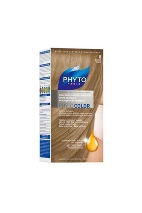 Phyto Açık Sarı Saç Boyası - Color 8 Kit 40 ml
