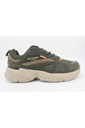 Jump Erkek Haki Yürüyüş Ayakkabısı 24095