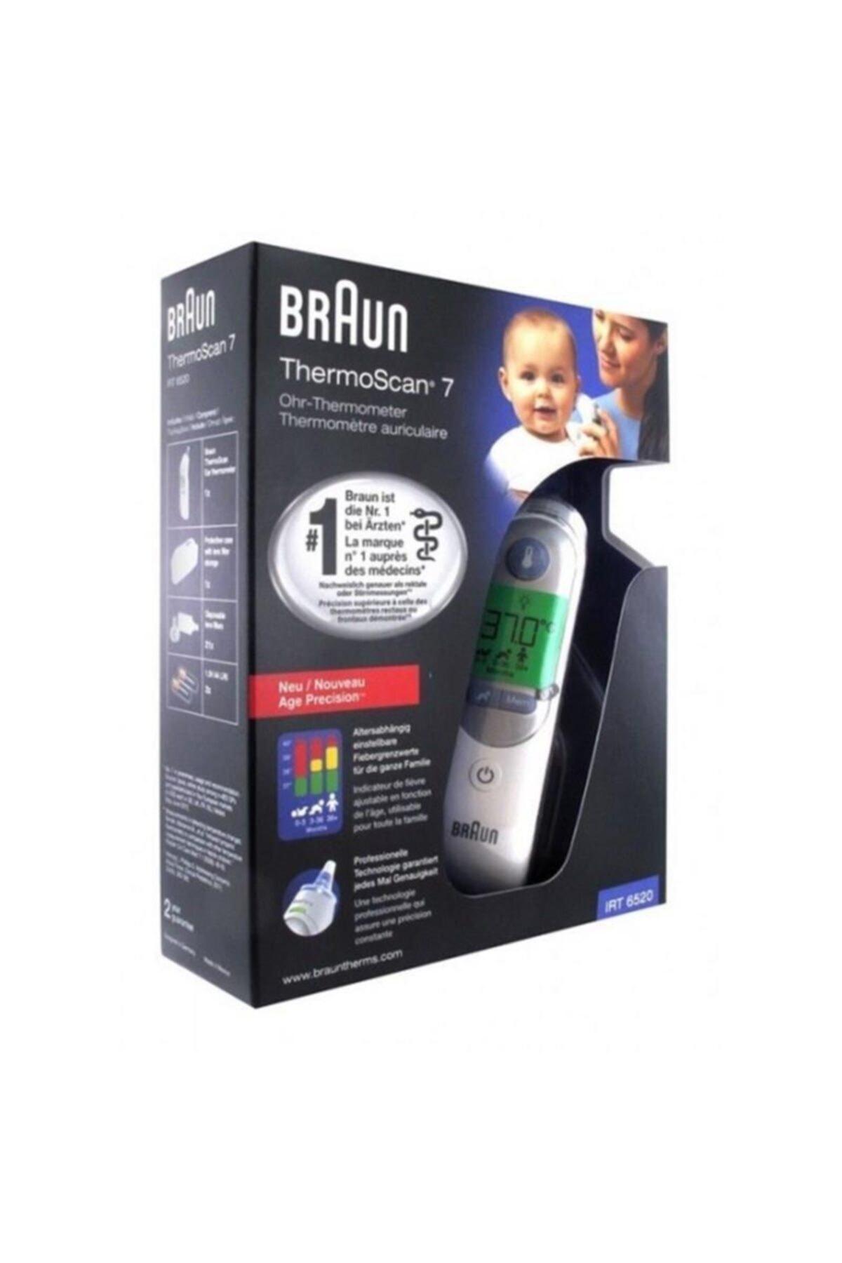 Braun Irt6520 Thermoscan Kulaktan Ateş Ölçer 2