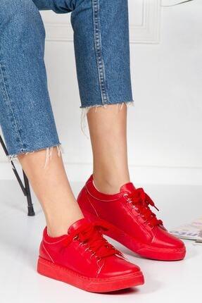 derithy Kadın Kırmızı Ayakkabı abn0603
