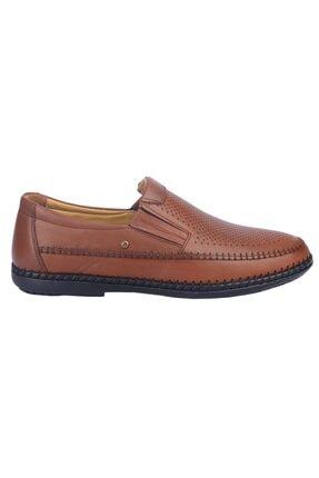 MP Erkek Taba %100 Deri Günlük Comfort Ayakkabı