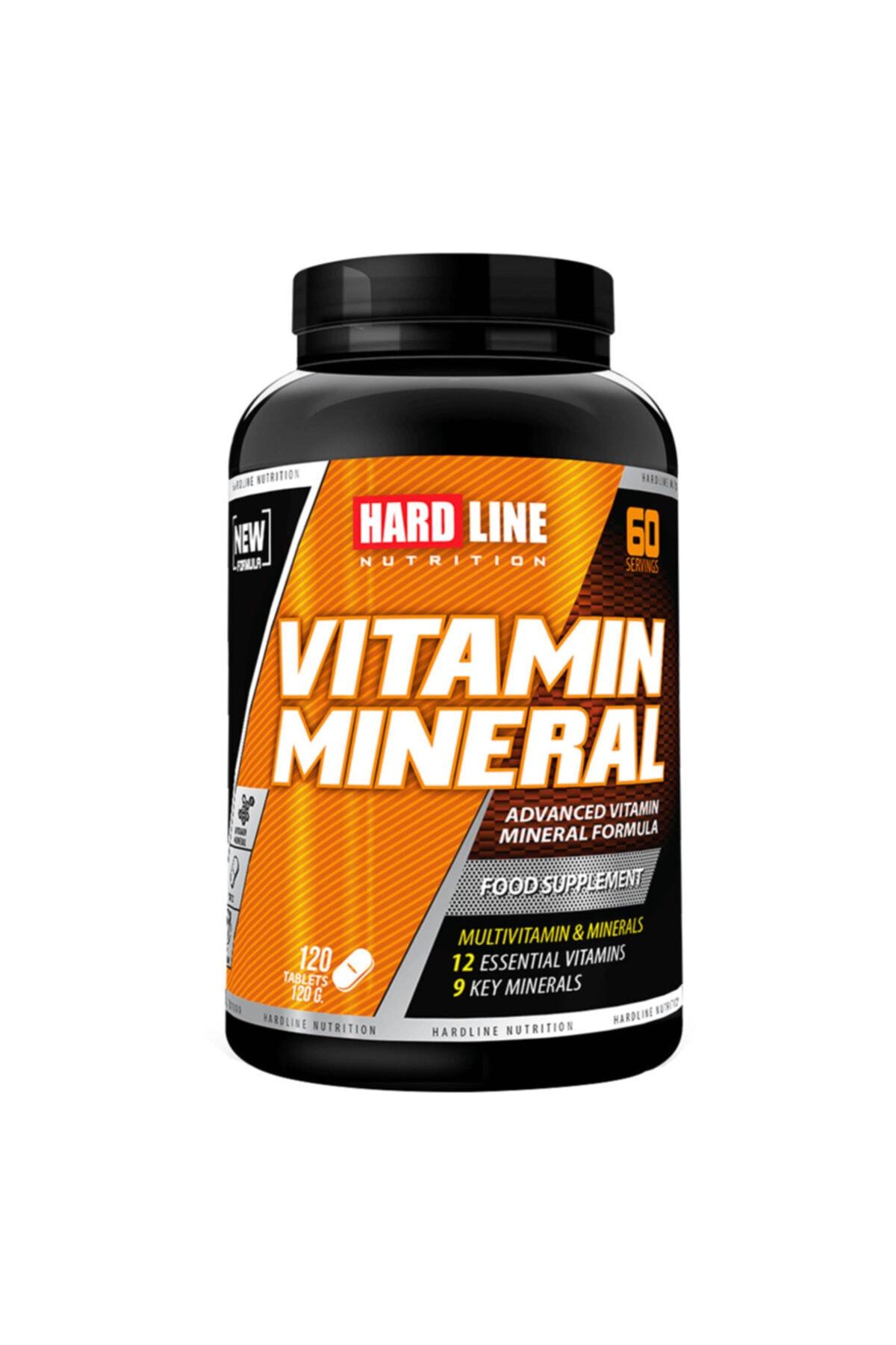 Hardline Vitamin Mineral 120 Tablet Multivitamin 1