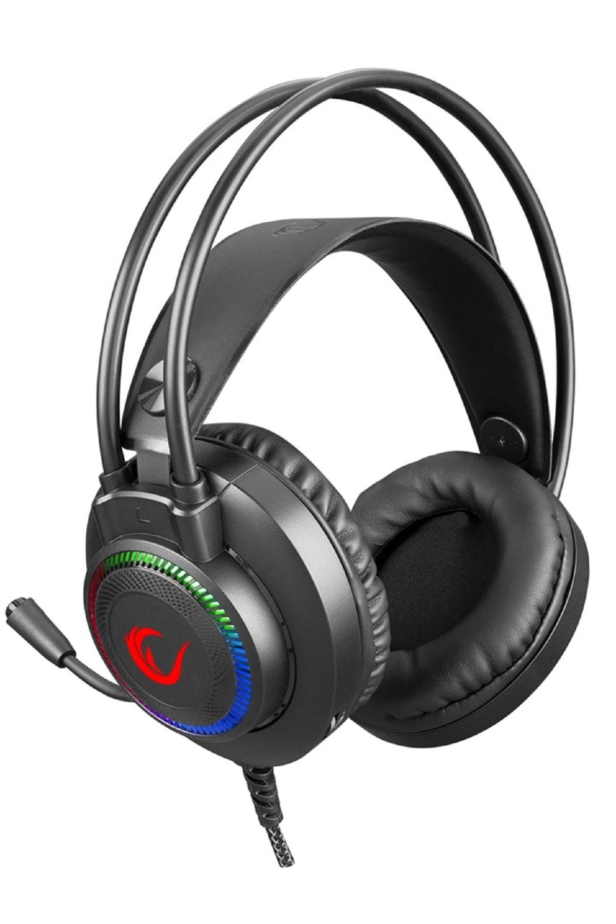 Rampage Rm-k27 X-jammer 3,5 Mm 7 Renk Ledli Gaming Oyuncu Mikrofonlu Kulaklık 1