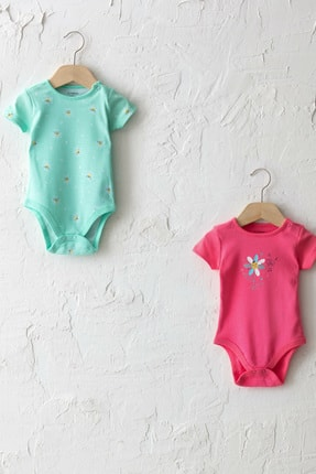 LC Waikiki Kız Bebek Orta Pembe Guz Bebek Body & Zıbın