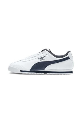 Puma Roma Basic White-new Navy