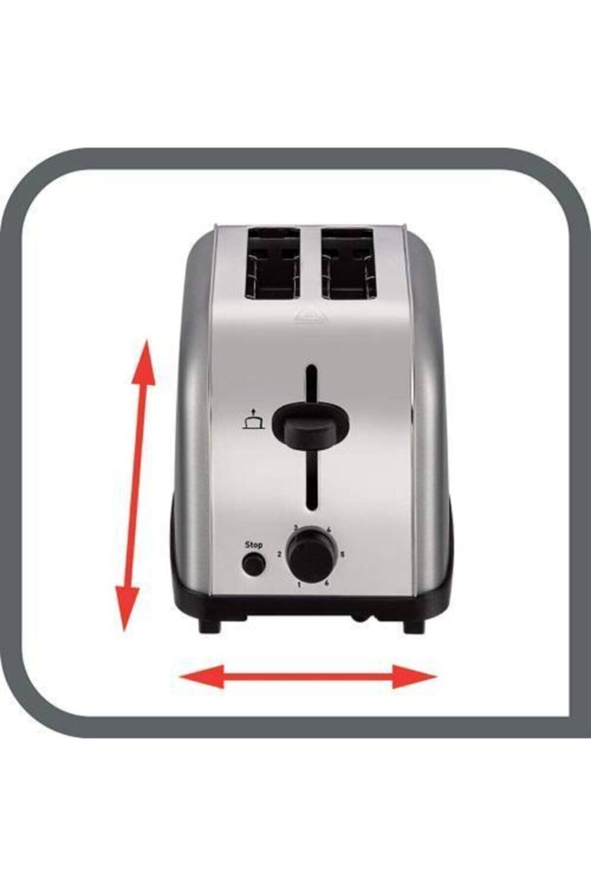 TEFAL Ultra Mini Ekmek Kızartma Makinesi (Inox) 2