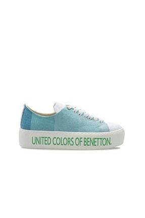 Benetton BN-30124 Turkuaz Kadın Spor Ayakkabı