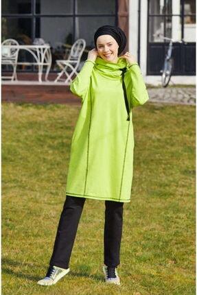 Mayovera Kadın Fosforlu Yeşil Eşofman Takımı
