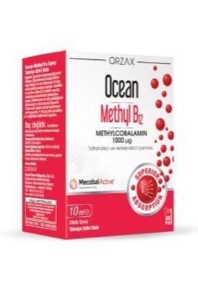 Orzax Ocean Methyl B12 1000 Mg 10 ml Dilaltı Sprey