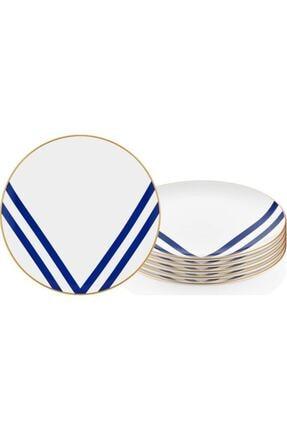 The Mia Pasta Tabağı Set 19 cm  6'lı
