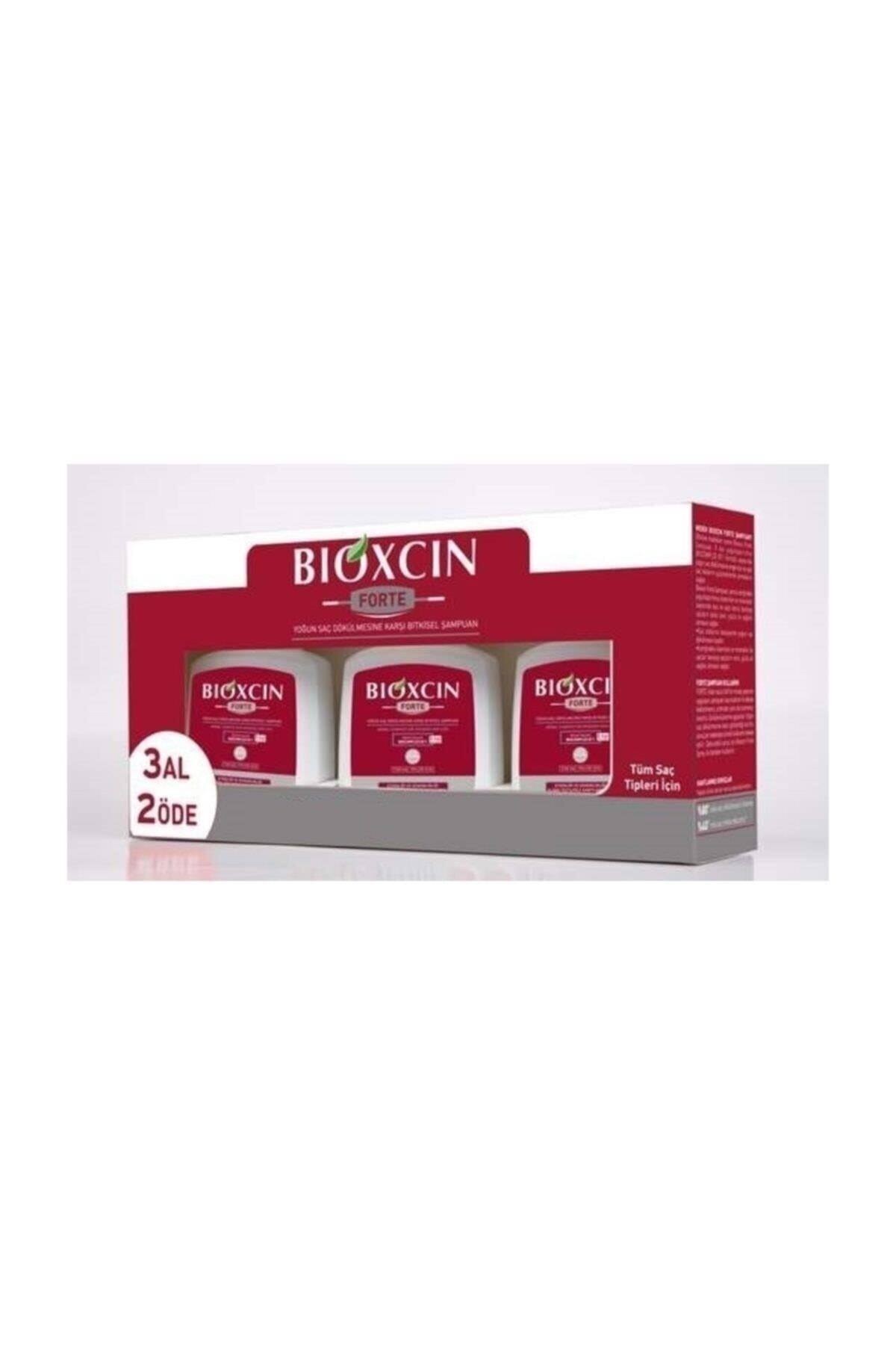 Bioxcin Forte 3 Al 2 Öde Şampuan Tüm Saç Tipleri 1