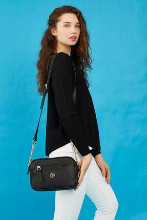 U.S. Polo Assn. Us8708 Siyah Kadın Çapraz Çanta