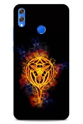 Lopard Huawei Honor 8x Uyumlu Firex (18) Sarı Siyah Telefon Kılıfı
