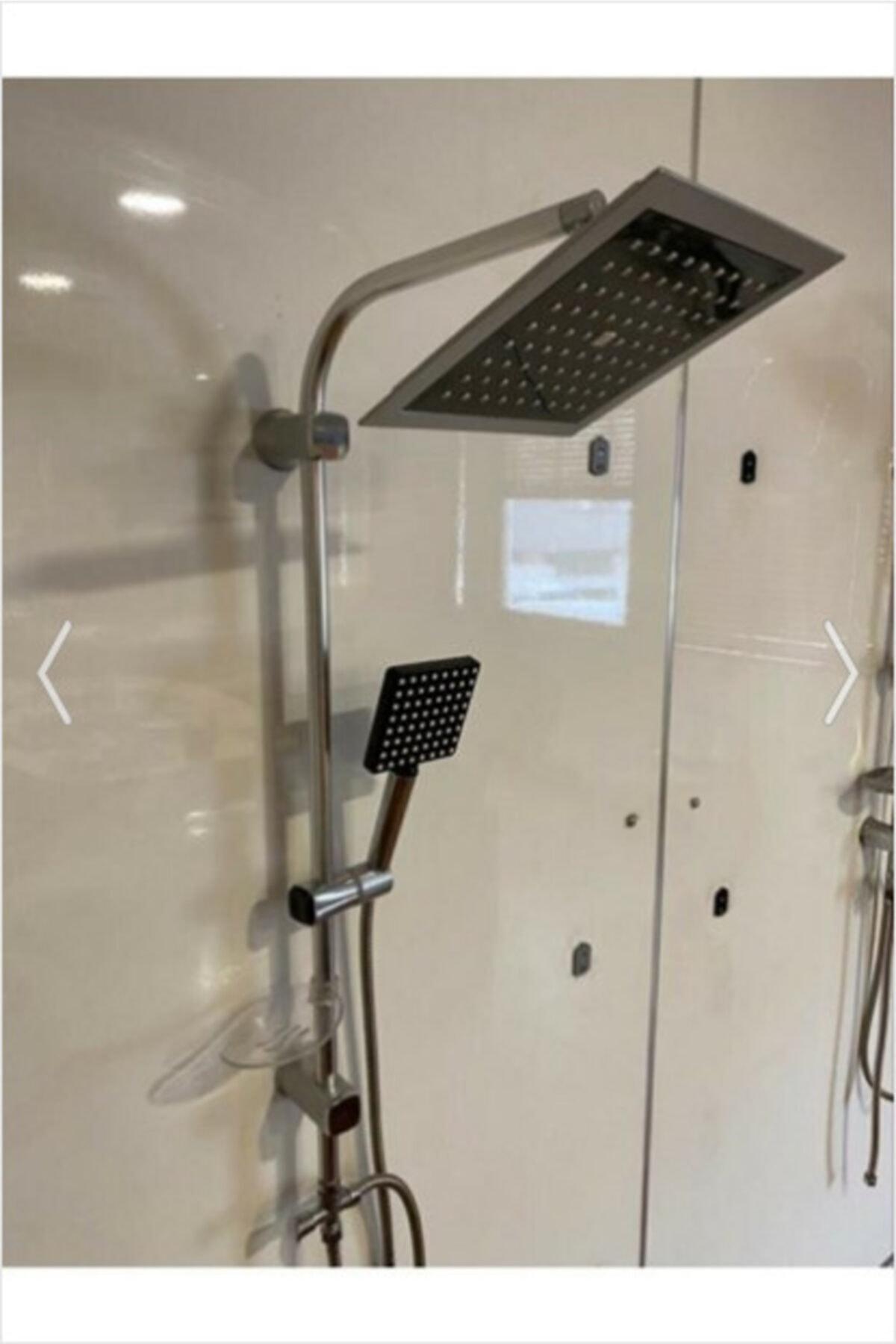 ŞENPRES Vival Local Yeni Nesil Robot Yağmurlama Tepe Duş Başlığı Seti 1