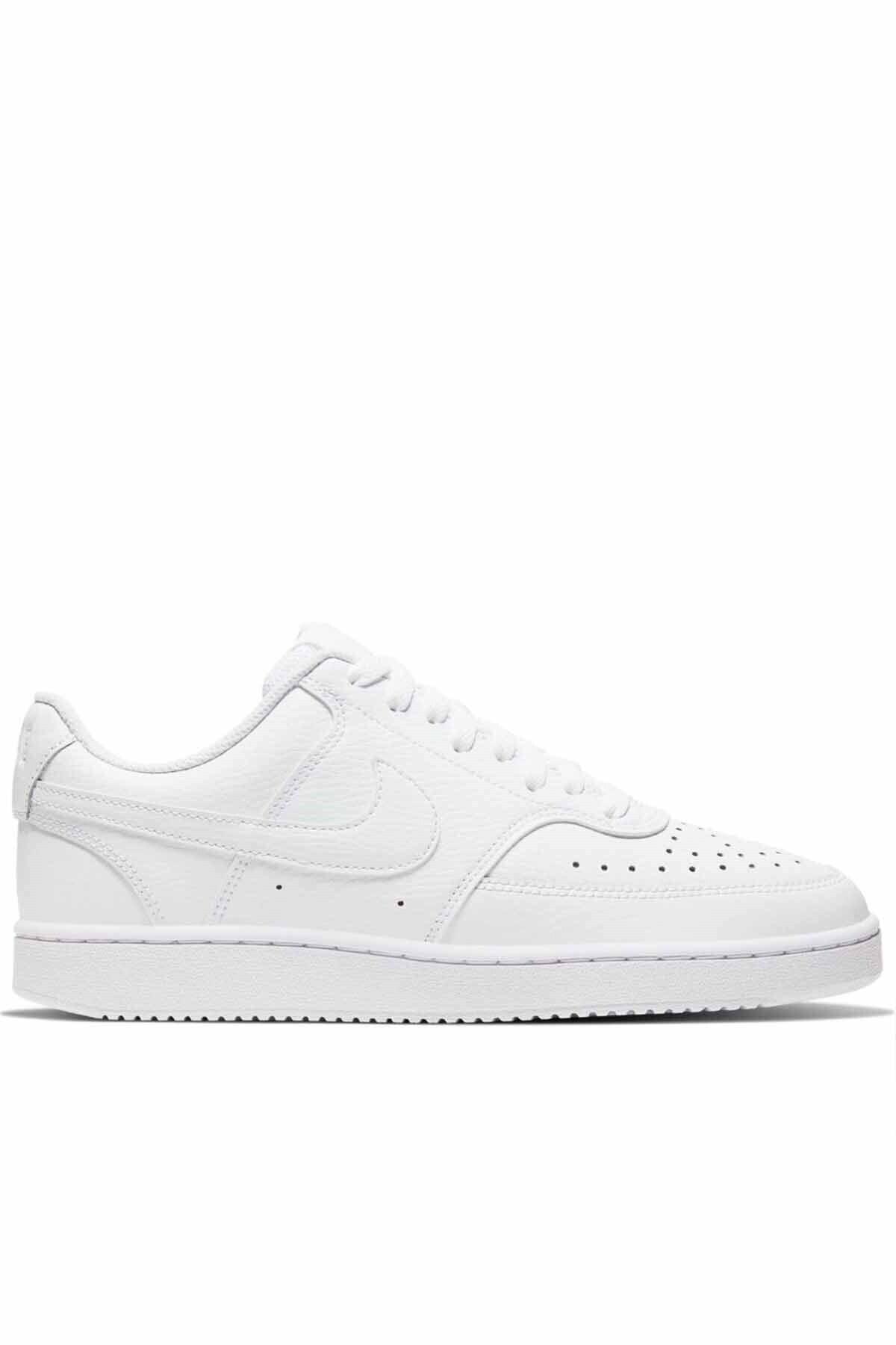 Nike Erkek Beyaz Court Vısıon Lo Spor Ayakkabı Cd5463-100 1