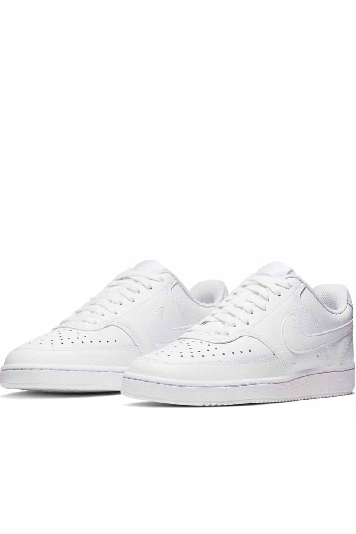 Nike Erkek Beyaz Court Vısıon Lo Spor Ayakkabı Cd5463-100 2