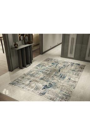 FORVET HALI Forvet Modern Salon Halısı 26614 Mavi 200×290 Cm