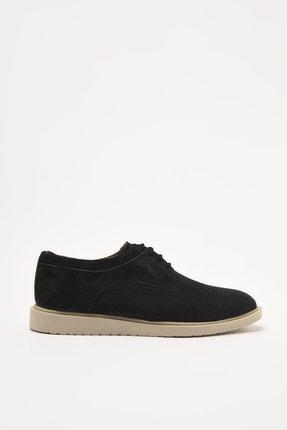Hotiç Hakiki Deri Siyah Erkek Klasik Ayakkabı 02AYH297190A100