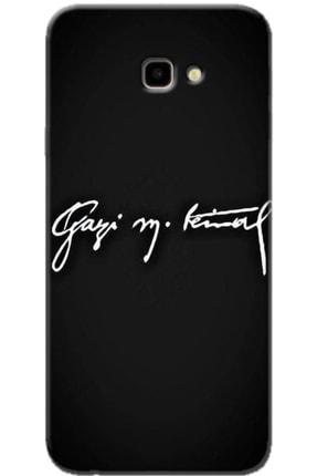 Turkiyecepaksesuar Samsung Galaxy J4 Plus Desenli Kılıf + Temperli Ekran Koruyucu Cam