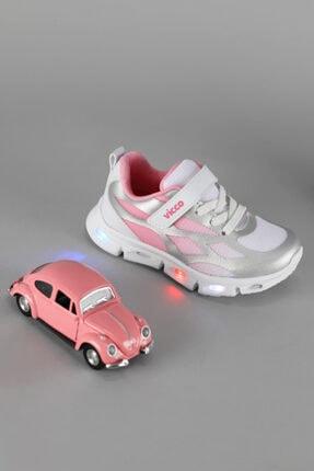 Vicco Woo Kız Çocuk Gümüş Spor Ayakkabı