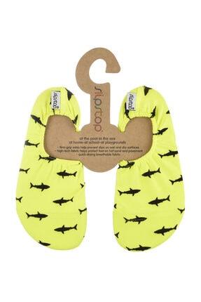 SLIPSTOP Sarı Kız Çocuk Deniz Ayakkabısı