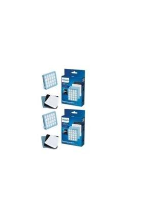 Philips Expermarket Fc 8473/01 Animal+ Power Pro Compact Süpürge Uyumlu Hepa Filtre Seti 2'li (2 Kutu)