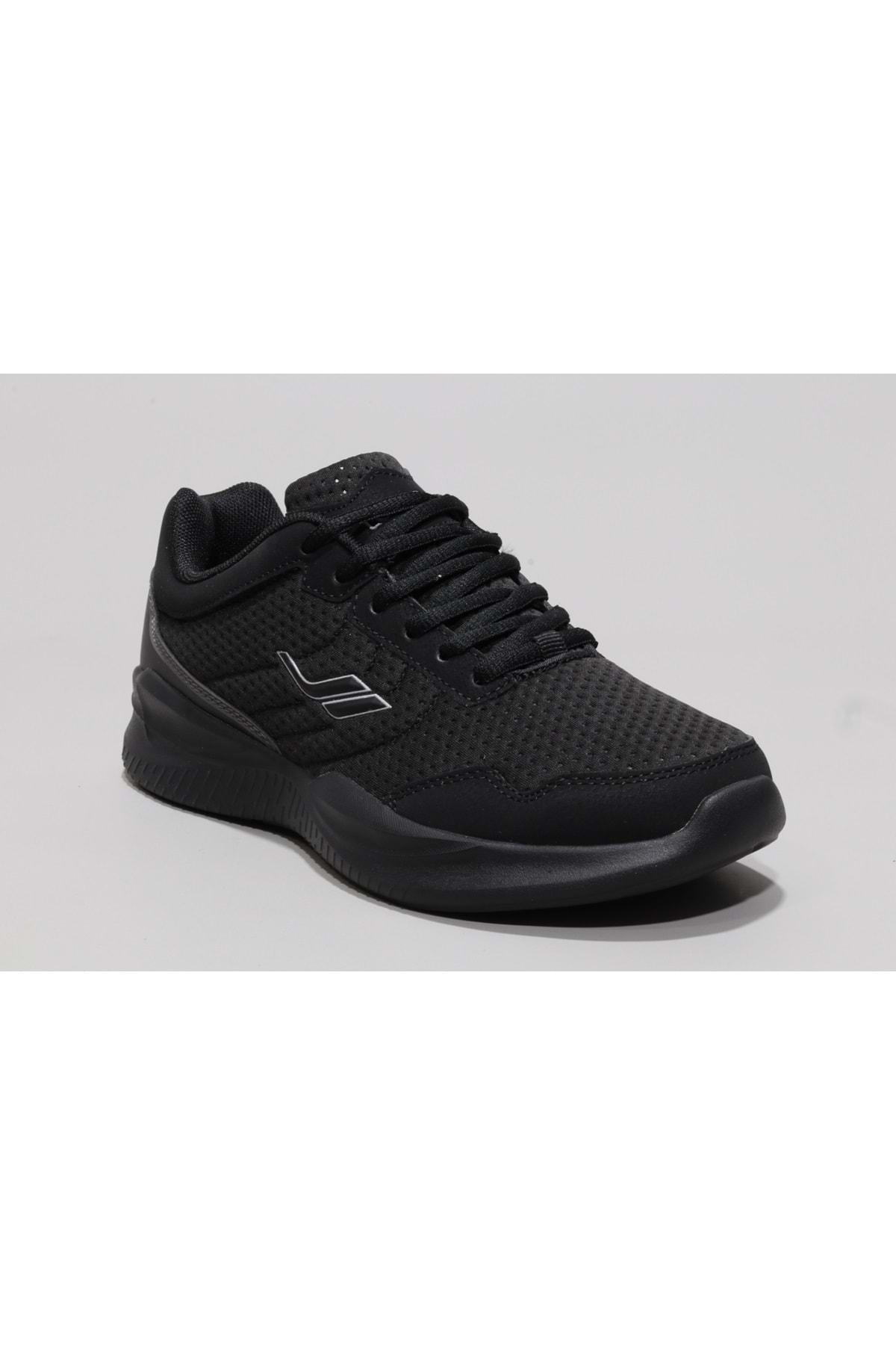 Lescon Kadın Siyah Yürüyüş Ayakkabısı 1