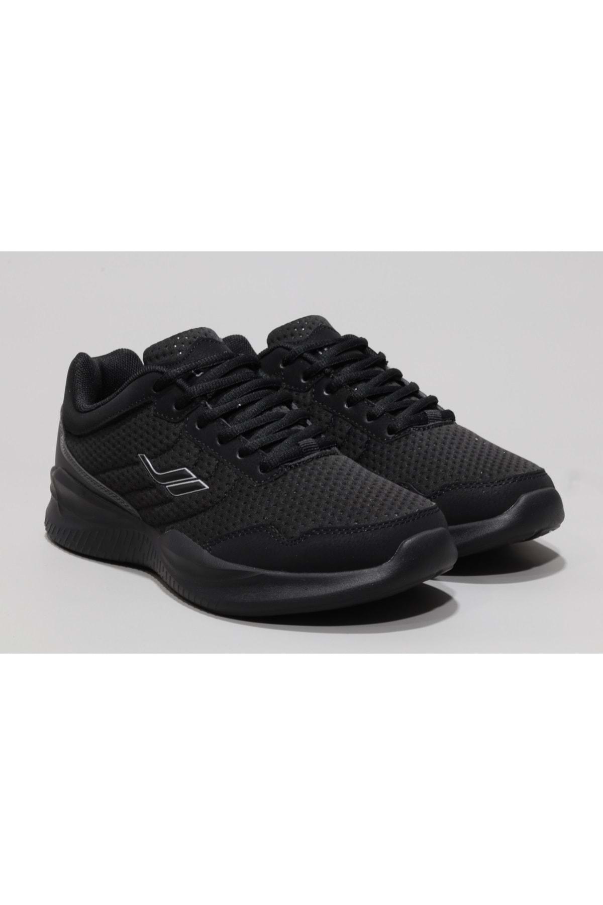 Lescon Kadın Siyah Yürüyüş Ayakkabısı 2