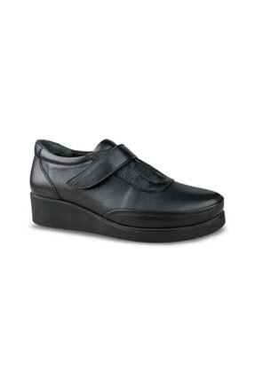 Ceyo Kadın Siyah Kışlık Ayakkabı 19108