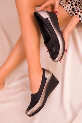 SOHO Platin Kadın Casual Ayakkabı 15273