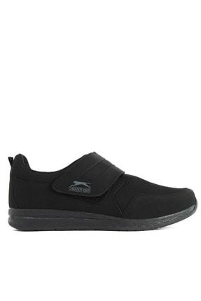 Slazenger ALISON I Sneaker Kadın Ayakkabı Siyah / Siyah SA11LK029