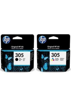 HP 305 Renkli 3ym60ae Ve 305 Siyah 3ym61ae Kartuş Seti