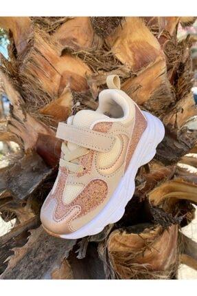 Vicco Kız Çocuk Altın Renk Spor Ayakkabı