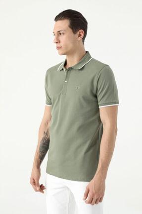 D'S Damat Erkek Yeşil Tween Polo Yaka T-shirt