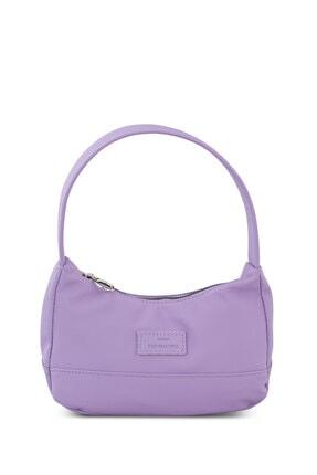 Housebags Kadın Lila Baguette Çanta 197