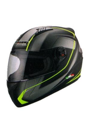 Sway Sw 807 Full Face Kapalı Motosiklet Kaskı - Yellow