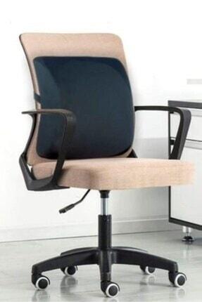 Vivyan Lüx Ortopedik Sırt Minderi Araç Koltuk Sandalye Bel Yastığı Bel Desteği Bel Minderi