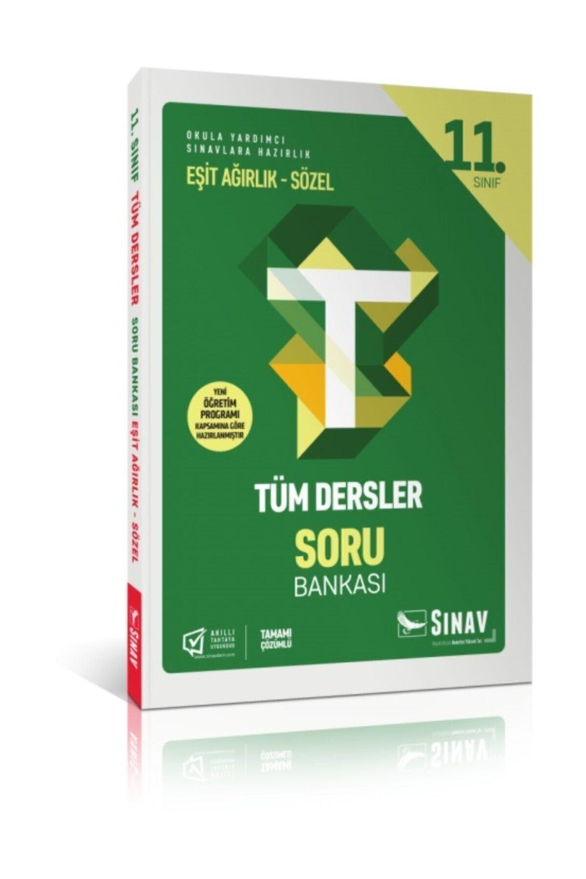 Sınav Yayınları 11. Sınıf Tüm Dersler Eşit Ağırlık Sözel Soru Bankası 1