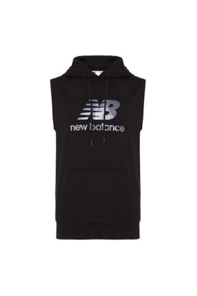 New Balance Erkek Siyah Sweatshirt Mph1109-bk