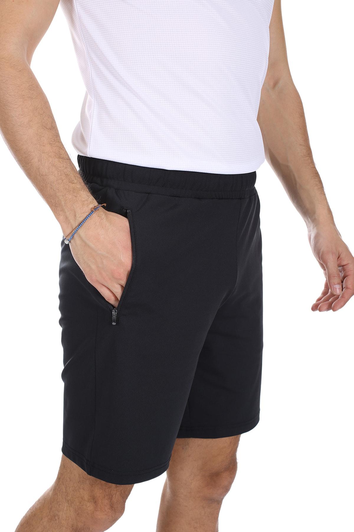 lumberjack Erkek Siyah Slim Fit Basiıc Pes Short Siyah/black 11s40pesshort 2