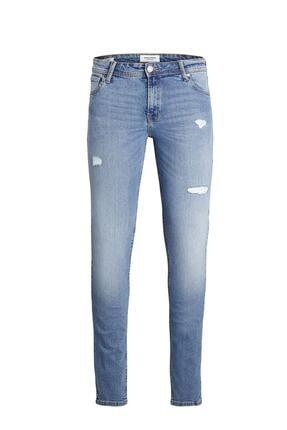 Jack & Jones Erkek Mavi Intellıgence Pantolon Blue Denim Jeans