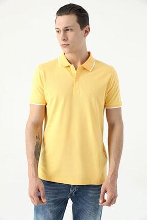 D'S Damat Erkek Sarı Tween Polo Yaka T-Shirt