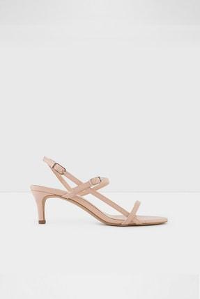 Aldo Kadın Pudra Deri Topuklu Sandalet
