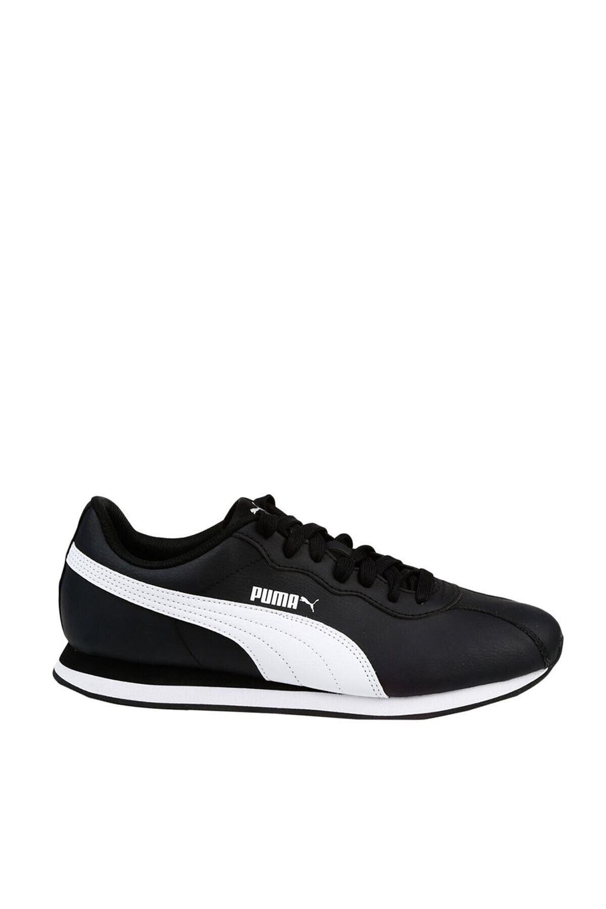 Puma Puma Turin Ii Siyah Beyaz Erkek Sneaker Ayakkabı 100352191 1