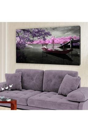 hanhomeart Göl Sandal Kanvas Tablo 60x120 cm