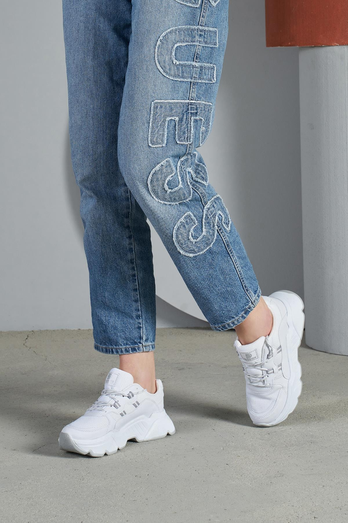 OCT Shoes Kadın Sneaker TS1069 2