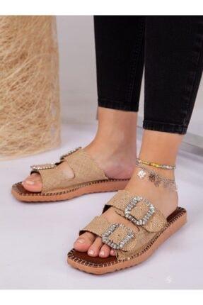 ayakkabıhavuzu Kadın Kahverengi Terlik