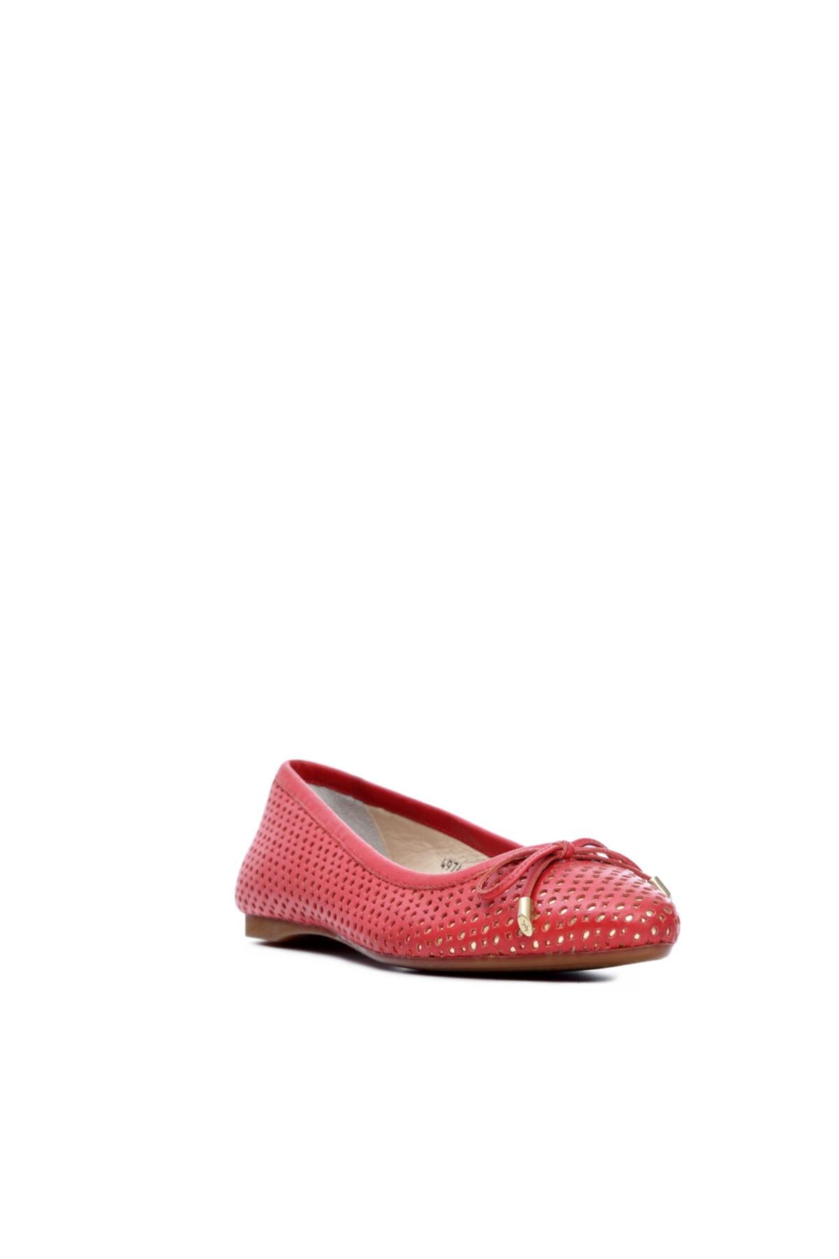 KEMAL TANCA Kadın Derı Babet Ayakkabı 484 Z-4974 Byn Ayk 2